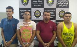 Presos ladrões de banco que se preparavam para assalto em Carpina
