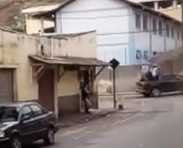 Vídeo - Policial Militar e Vigilante são mortos após um assalto a banco