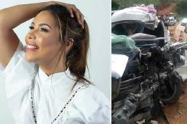 Após investigações, Polícia concluiu que cantora gospel causou o acidente
