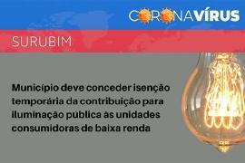 MPPE recomenda a isenção temporária da taxa de iluminação pública aos consumidores de baixa renda de Surubim, PE